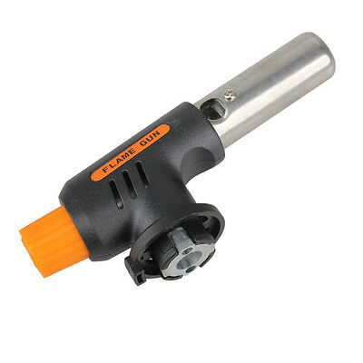 Gas Torch Butane Burner Auto Ignition Camping BBQ Welding Flamethrower Tools