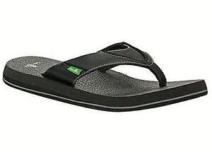 NEW! - Sanuk Mens Beer Cozy Flip-Flop - FAST SHIPPING!