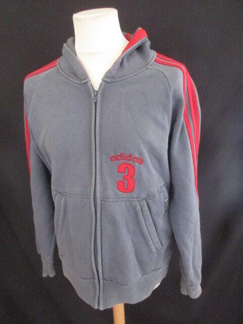 Sweatshirt vintage Adidas grey Größe m