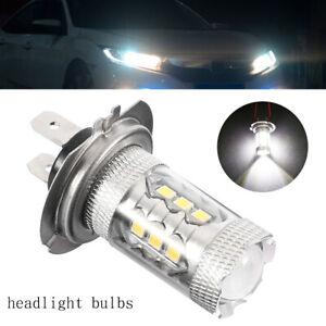 2X-H7-CREE-499-LED-6000K-AMPOULE-PROJECTEUR-FAISCEAU-IMMOBILIER-LAMPE-LUMIERE-G