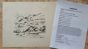 Max-PECHSTEIN-1881-1955-Original-Lithographie-Anno-1919-335-ADEN