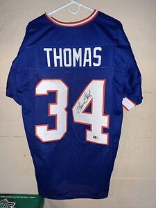 Details about Thurman Thomas Autographed/Signed Jersey JSA COA Buffalo Bills HOF