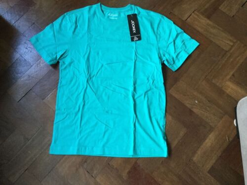 Men/'s Jockey Round Neck T Shirt in Sea Breeze BNWT