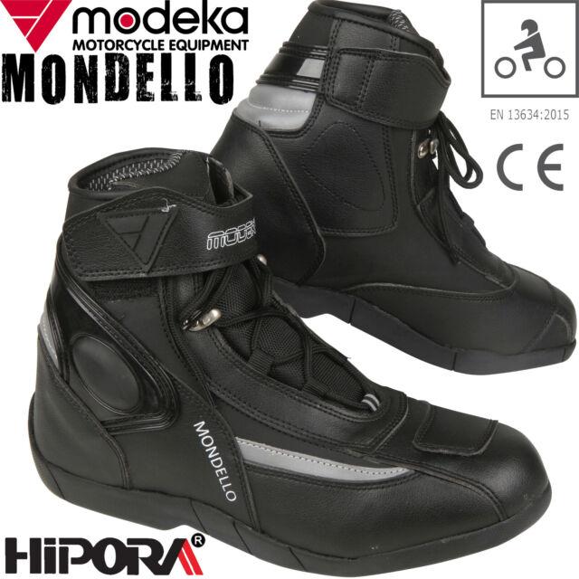 Modeka Herren Motorradstiefel Donington II Männer Motorrad Stiefel Schuhe