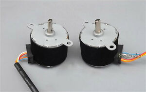 35BY412 Gear Ratio 1:42.5 DC12V 4 Phase Permanent Magnet Gear Stepper Motor 2PCS