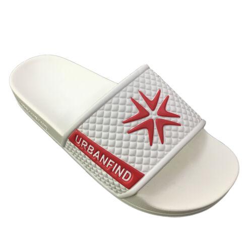 Men/'s Casual Shower Slide Sandal Beach Pool Slippers Comfort Open Toe Flat Shoes