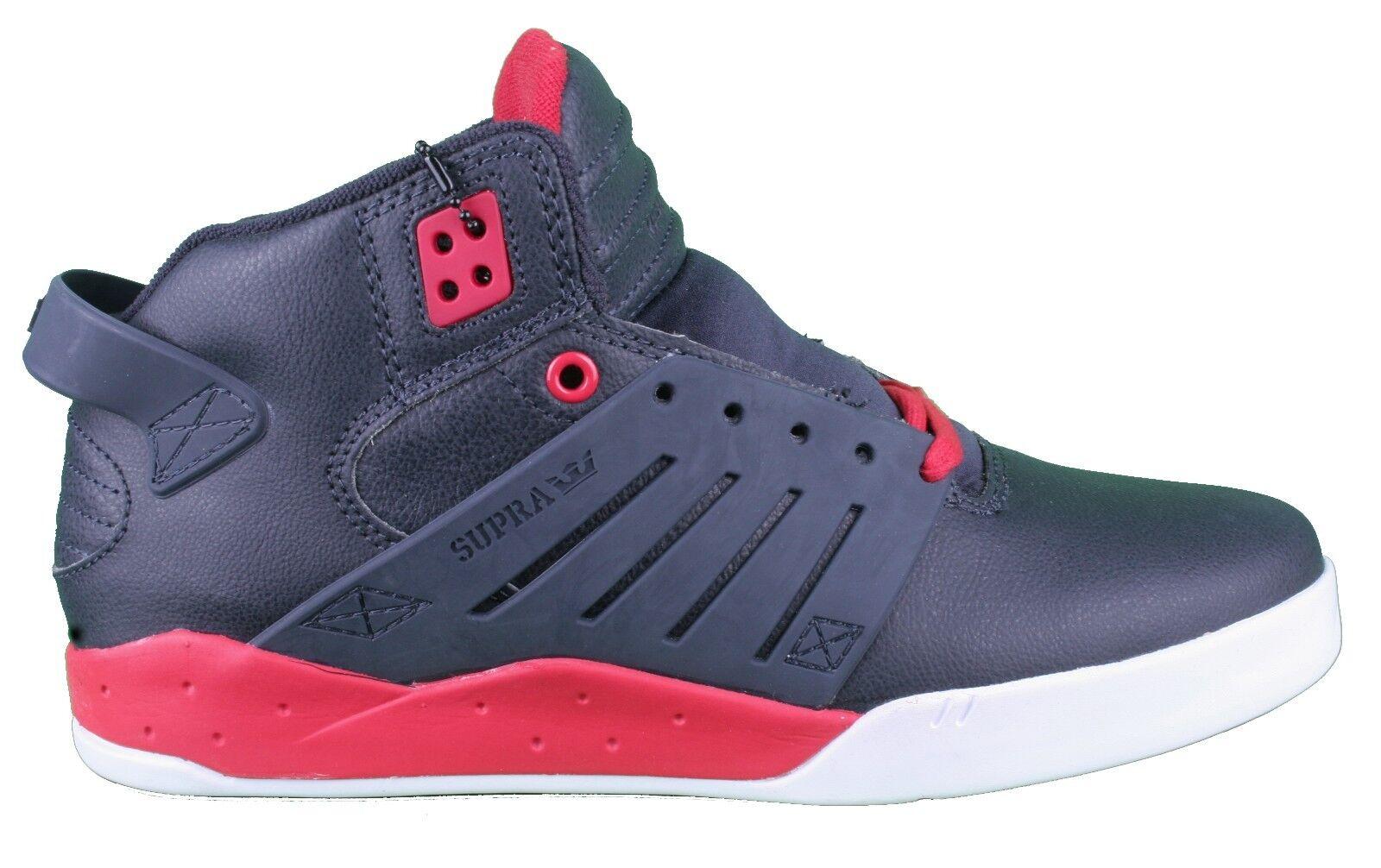 Supra Skytop Skytop Supra III Midnight/White/Red Mid Top Skateboarding Shoes  9.5 NIB 2b7f3c