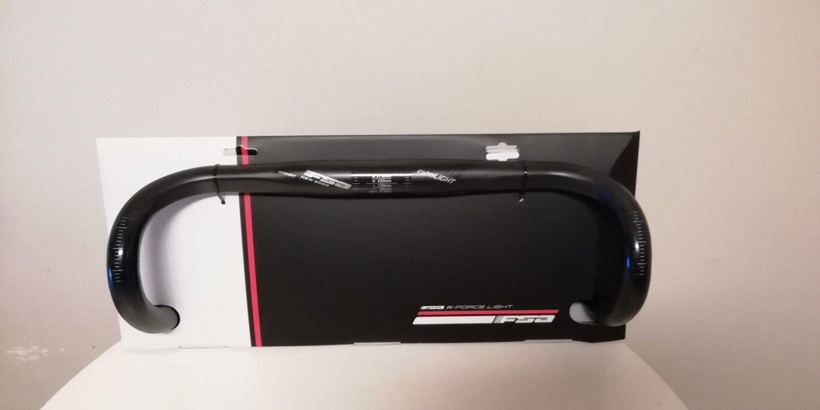 FSA K FORCE Extra leichter Carbon Lenker NEU 42cm RRP