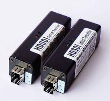 HD-SDI to LC Fiber Optic Converter 10KM Transmitter Receiver 1080i or1080P@30HZ