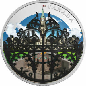 2018-Canada-2-oz-Silver-30-The-Queen-039-s-Gate-Formal-Entrance-to-Parliament-Hill