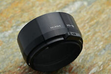 Genuine Nikon HS-10 Hood NIKKOR 85mm f2 105mm f2.5 Ai-S Lenses 52mm Snap-On #610