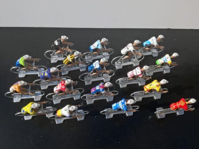 18 cyclistes miniatures Equipes régionales France 2018 - Coureur cycliste