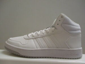 Details about Adidas Hoops Mid Leather Mens Trainers UK 8 US 8.5 EUR 42 REF 1826
