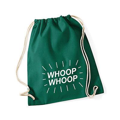 Baumwoll Turnbeutel mit Spruch Motiv  machen!  Tasche Gym Bag