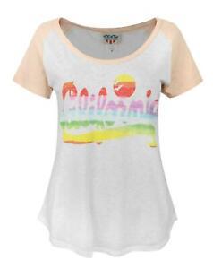 Junk-Food-California-Women-039-s-T-Shirt