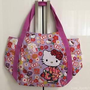 48f6b0befea3 Image is loading F-S-Hello-Kitty-Manufatto-Japanese-Kimono-Flower-Magnet-