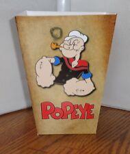 Popeye Olive Oyl Popcorn Boxfree Shipping