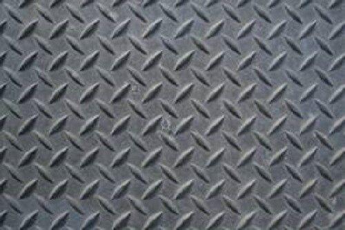 "1//8/""  Steel Tread Plate  12/"" x 24/"""
