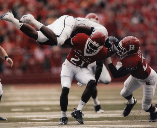 DEVIN MCCOURTY RUTGERS SCARLET KNIGHTS 8X10 PHOTO #O