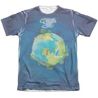 Yes Rock Band Fragile Album Cover 1-sided Big Print Poly Cotton T-shirt