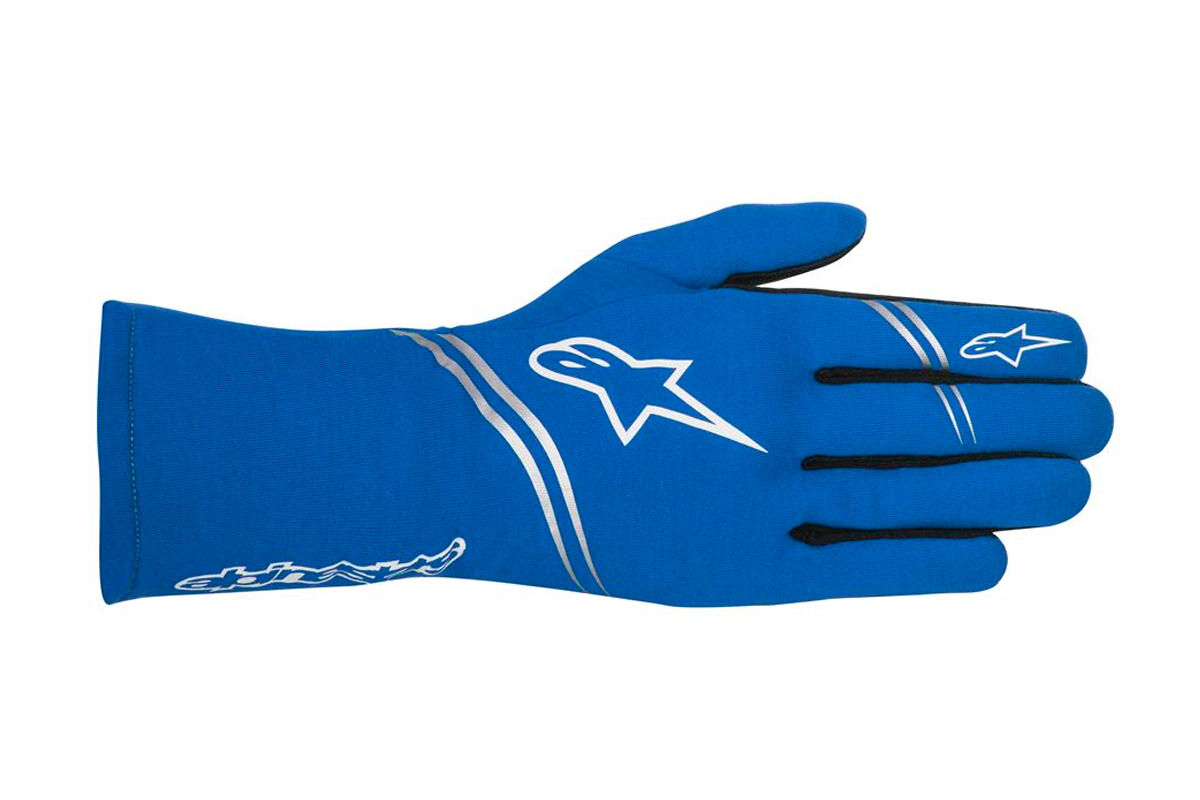 ALPINESTARS TECH 1 start Guanti TECH 1 start Blu Sport Rally Race
