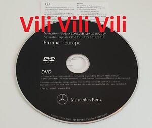 2019-Mercedes-Benz-DVD-Comand-Aps-Europa-NTG3-W221-S-Klasse-Version-17-NEUE-MAPS