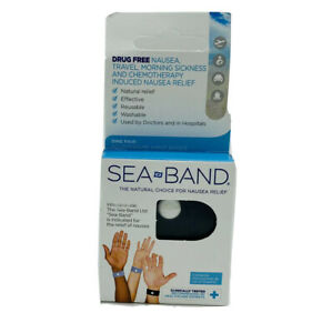 SEA BAND Accupressure Wrist Band for Nausea Relief, Gray ...
