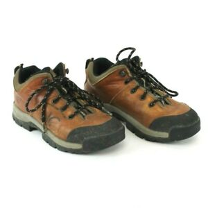Timberland-Womens-ACT-Brown-Leather-Lace-Up-Ankle-Boots-Size-6-M-Style-62333