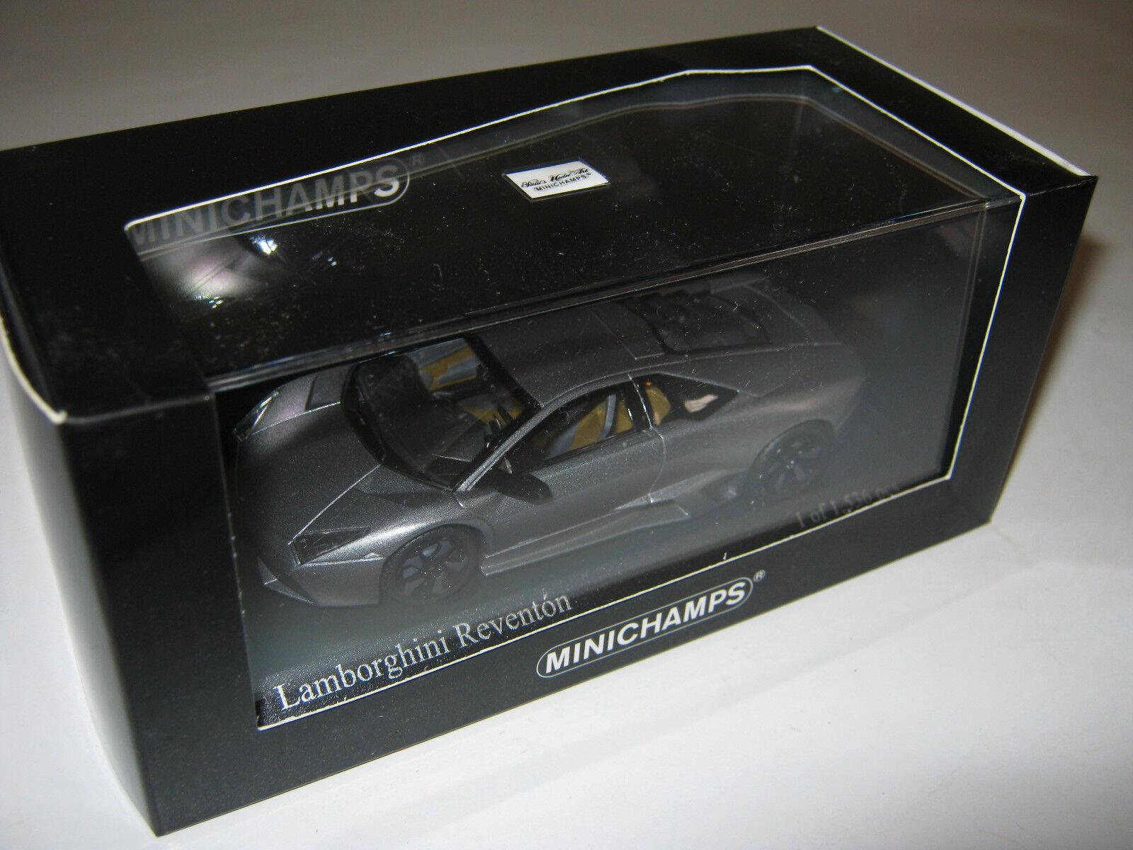1 43 Lamborghini Reventon Reventon Reventon grey met. 2007 L.E. MINICHAMPS 400103950 OVP new efa7c6