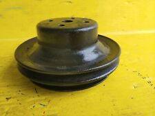 69 80 Gm Chevy 327 350 396 454 2 Row Water Pump Pulley Free Shipping