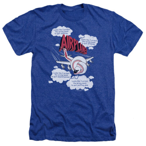 Movie Quotes I PICKED THE WRONG WEEK Heather T-Shirt All Sizes Airplane