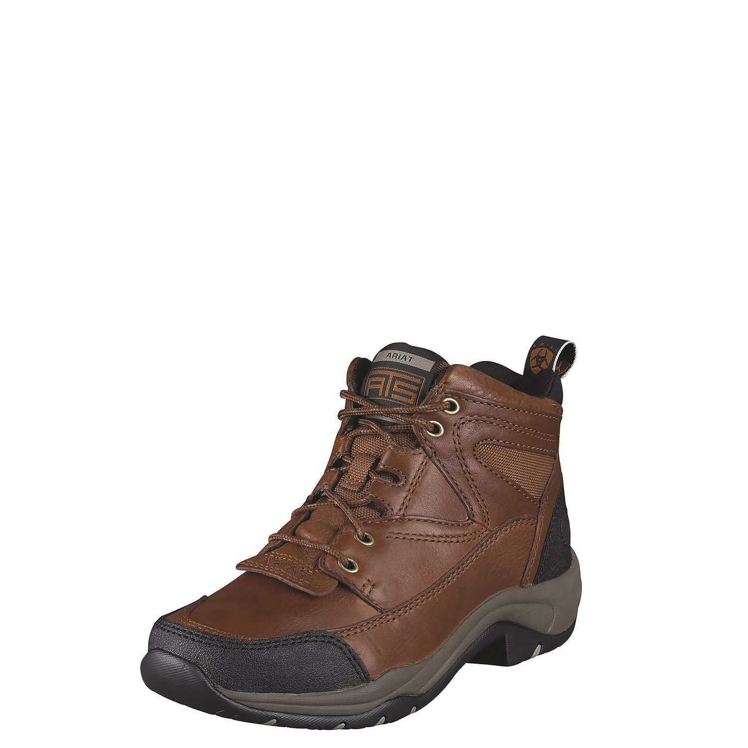 Ariat 10004139 Terrain Full Grain Leather Outdoor Hiking Lacer Work stivali