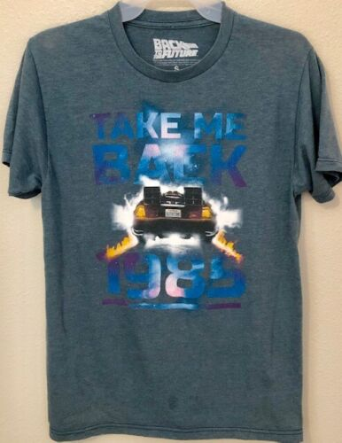 Back to the Future T-Shirt Take Me Back to 1985 B… - image 1