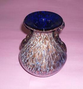 Cadeau Idéal Incroyable merveilleuse Handmade Small ART GLASS VASE peut-être par Murano-afficher le titre d`origine LPRc98Ip-09163932-524358333