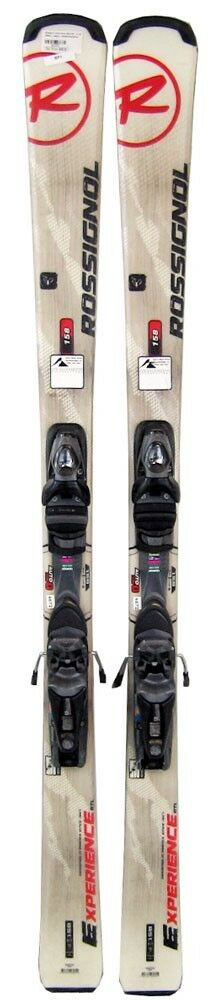 Rossignol Experience 74R Skis 156 cm with Axium 100 Bindings Weiß - USED VALUE