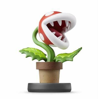Nintendo amiibo Super Smash Bros. PIRANHA PLANT Wii Switch Accessories NEW