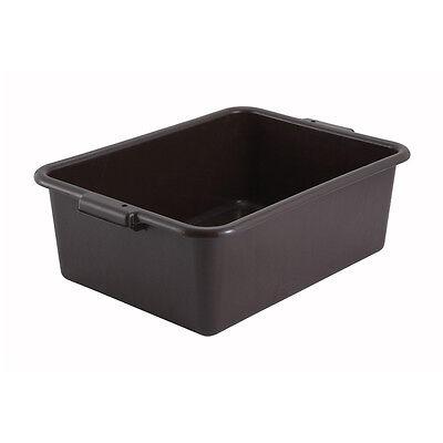 "Winware by Winco PL-7G Dish Box 7/"" High"