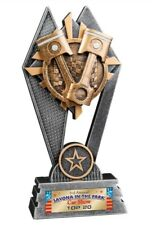 RACING OR CAR SHOW AWESOME NEW LARGE THREE POST TROPHY 14 YEAR PERPETUAL AWARD *