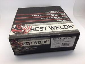 33 lb Roll BEST WELDS PREMIUM ER70S-6 .023\