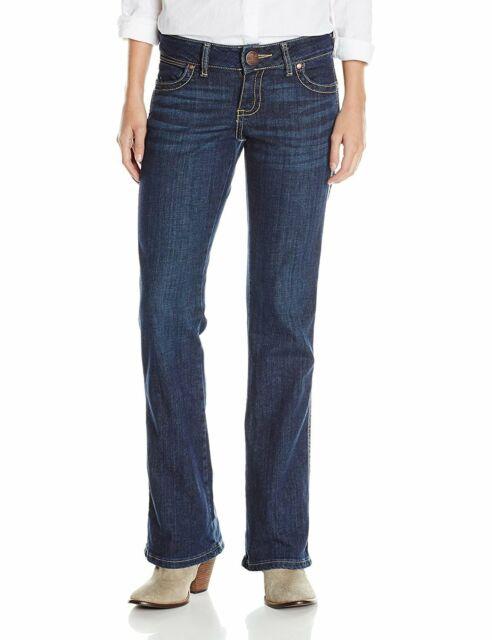 Wrangler Premium Denim Boot Cut Women/'s Jean/'s 09MWZDO