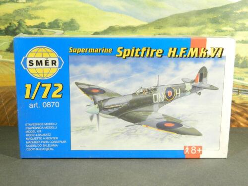 1//72 Kit Smer No 0870 SUPERMARINE SPITFIRE H.F.Mk.VI WW2 British Fighter NEW