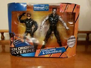 Marvel-Legends-CYCLOPS-amp-COLOSSUS-Walmart-Exclusive-Figure-2-Pack-XMen-Movie-NIB