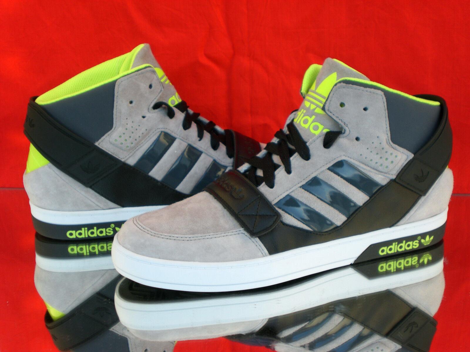 ADIDAS Originals hardcourt Scarpe Defender dicina-Top Sneaker Grigio/Nero/Giallo m22333neu Scarpe hardcourt classiche da uomo afd535
