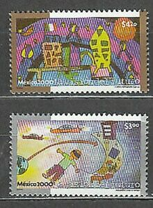 Mexico Mail 2000 Yvert 1907/8 MNH