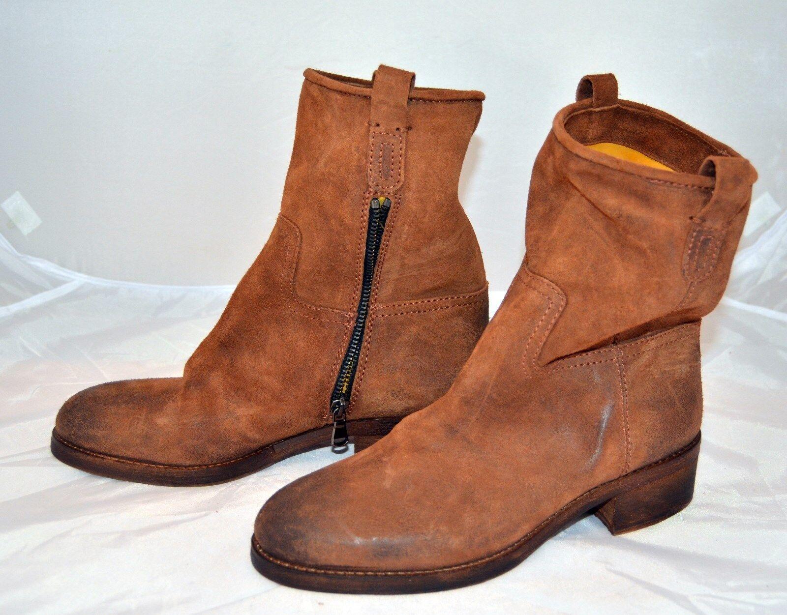 El campero botas made in italy % Braun cuero 329,- euro cosidos Braun % ms229 3c4704