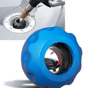 Easycap-Blau-Tankdeckel-Tanken-wie-in-der-DTM-und-Formel-1-Schraubverschluss