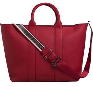884b76cf81db7 Das Bild wird geladen Calvin-Klein-Race-EW-Shopper-Umhaengetasche-Handtasche -Tasche-