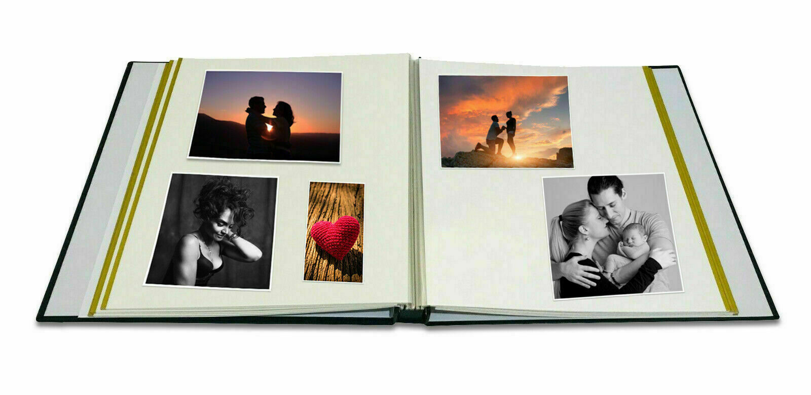 Large Self Adhesive Photo Album 20 Sheets Hold Various Sized Up to A4 XMAS GIFT