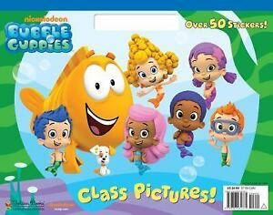 Big Coloring Book Class Pictures Bubble Guppies By Golden Books 2012 Paperback