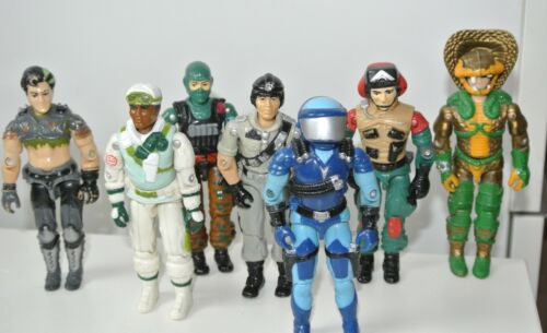 1986 GI JOE ACTION FORCE chiffres Hawk Sci Fi WET-SUIT CROSS-COUNTRY Thrasher